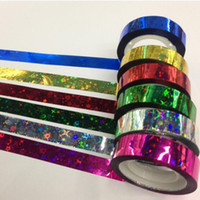 Wholesale 12 DIY New Cute Kawaii Laser Tape Coloful Masking Tapes for Home Decoration Scrapbooking