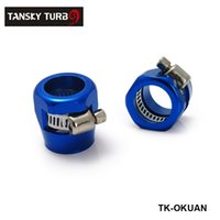 Wholesale TANSKY NEW Fuel Systems Fittings AN4 Fuel Oil Water Tube Hose Fittings Finisher Clamps mm TK OKUAN4