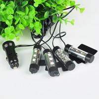 Wholesale 12V Neon Atmosphere Lights Lamp Blue Car Light Car Interior Decorative Lights LED PQP0045