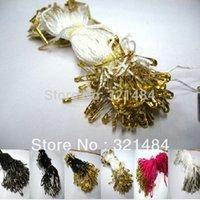 Wholesale 2500pcs cm mixed high end clothing pin lanyard tag rope snap tabs hang tag string
