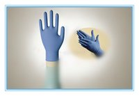 Wholesale Nitrile Disposable Gloves Medical Consumables Powder Free Textured Top Quality Medical Supplies Widely Used