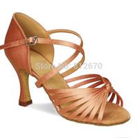 basic salsa dance - amp retail basic salsa shoe high heel Women s Satin Latin Ballroom Dance Shoes XC