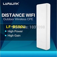 Wholesale LAFALINK Mbps Outdoor High Power High Gain PoE Mount Wireless AP Access Point Bridge Universer Repeater SOHO Enterprises order lt no tr
