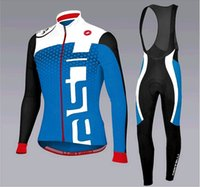 Wholesale New Men s Breathable Wear Cycling Thin Long Sleeve Quick Dry Bicycle Jersey With Bib Pants Bike Clothing