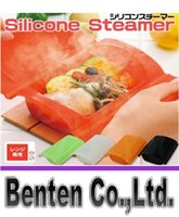 Wholesale llfa980 Fashion Silicone steaming bowls of steaming box lunch box food box