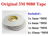 Wholesale Mixed mm mm mm mm M M Double Sided Adhesive Tape for Mobilephone Mini Pad Tablet LCD LED Screen Panel Repair