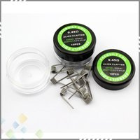 aliens pc - Alien Coil Heating Wires Resistance ohm sold by pc GA Resistance Alien Wire Fit RDA RBA E Cigarette DHL Free