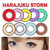 big star - Harajuku Storm Blood Eye Halloween Contact lenses Color Eye Lens Corlored Red Eye Vampire Devil Eye Lens