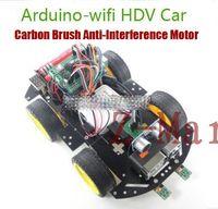 arduino ultrasonic module - Super Intelligent Smart Arduino WIFI Remote Control With HD Camera Ultrasonic Ranging Module Car
