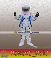 adult space costume - MALL25 Custom Character Space Astronaut Mascot Cartoon Costume Fancy Dress Anime Adult Carnival Halloween Thanksgiving Christmas Performance