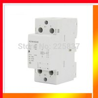Wholesale high quality NCH8 AC v v Hz A NO P pole household mini DIN Rail modular AC contactor