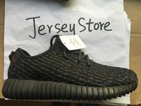 Wholesale 2016 New Kanye Milan West Yeezy Boost Moonrock Oxford Tan Pirate Black Turtle dove Men s Trainers Sports Shoes Running Shoes