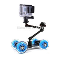 articulating arm mount - 3 in Articulating Magic Arm Hot Shoe Connector Mini Desktop Camera Rail Car gopro mount for gopro Hero