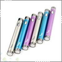 Adjustable ecigs - Vaporizer Tesla Spider Battery mah Variable Voltage VV mod V Ecigs twist Battery multi colors with high quality
