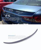 2014 2015 auto primers - High Quality ABS Gray Primer Rear Trunk Spoiler Auto Lid Aero Wing Spoiler Fit For Mazda ATENZA