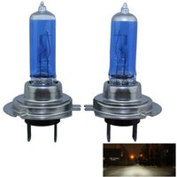 Wholesale 2X Hot Sale w DC12V k Auto Xenon HeadLight Bulb Light H7 Halogen Bulb T0698 W0 SYSR