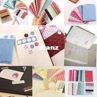 art basics - 27PCS Washi Scrapbook Basic Masking Tape Craft Stickers Pack Decorative Labelling Art Adhesives