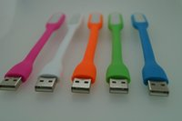 Wholesale 5 Colors Portable flexible USB LED Light For xiaomi Power bank computer Led Lamp laptop tablet pc