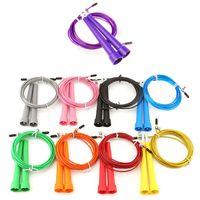 Wholesale Adjustable Steel Wire Skipping Jump Rope Crossfit Fitnesss Equipment Gear Skip
