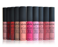 Wholesale 2016 NYX Soft Matte Lip Cream Lipstick NYX Makeup Charming Long lasting Daily Party Brand Glossy Makeup Lipsticks Lip Gloss