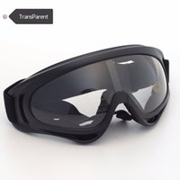 Wholesale High Quality Outdoor Windproof Glasses Ski Goggles Dustproof Snow Glasses Motocross Riot Control Goggles