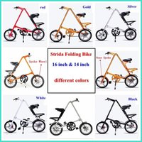 folding bikes - Strida Folding Bike new arrive STRIDA inch Aluminum alloy folding bike flexible inch Spokes none spoke wheels available