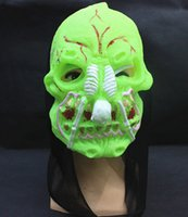 Wholesale Horror scary Mask for men Halloween performances mask party masquerade mask set