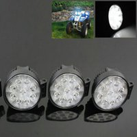 Wholesale Black W Lamp Searchlight Off Road Round SPORT Beam LED Work Light For SUVs