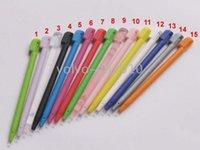Al por mayor-Lápiz táctil para NDSL Color Touch Stylus Pen para NDS Lite shipping + DHL + Dropshipping
