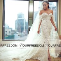 basque dress pattern - Charming Lace Wedding Dress with Sexy Off Shoulder Sleeveless Plunging Sweetheart Neckline Flower Pattern Lace Mermaid Bridal Dress