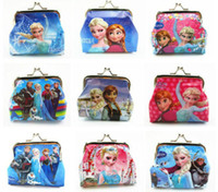abs bags - Frozen Elsa Anna Girls Kids Coins Boxes Purse Money Pouch Bag Cartoon Wallet Childrens Gift