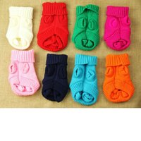 Wholesale Small Dog Sweater Pup Puppy Doggy Kitten Milk Dog Clothes XXXS XXS Little Dog Vest Baby Dog Coat Cat Clothing