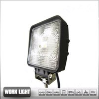 Wholesale Car Worklight Lamp W Black LED Off road Work Light Lamp V V for car Truck