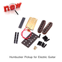 Wholesale 52mm Humbucker Humbucking Pickup DIY Kit for Electric Guitar Professional Guitar Parts Accessories