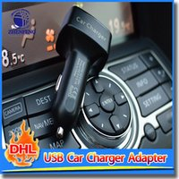 adapter current - Car Charger A USB Portable Adapter With LED Display Current Voltage Temperature Amp For Mobile Phone