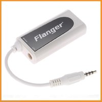 Wholesale Flanger FC Small and Exquisite White Guitar Bass for Android Apple iPhone iPad iPod Touch Music Converter Adapter