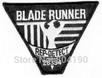 rep - BLADERUNNER quot REP DETECT quot Blade Runner Iron On Sew On Applique Fallout GAME Film TV MOVIE Cute Cartoon Embroidered Patch Badge