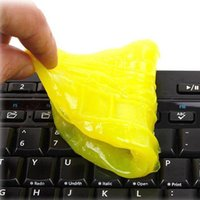 Cheap Wholesale-Good deal Eb Hk High-Tech Magic Dust Cleaner Compound Super Clean Slimy Gel For Phone Laptop Pc Computer Keyboard Mc-1