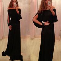 Cheap Full Sleeves Prom Dress Best Open Back Prom Dress
