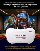 Wholesale VR CASE VRBOX D Glasses Match game handle Professional VR d Glasses Vrbox Upgraded Version Virtual Reality Video Glasses Bluetooth Remote