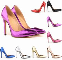 women red bottom shoes - Top Selling Sexy Pointed Toe Pumps High Heels Women Pumps Party Shoes Weeding Shoes Woman Red Bottom Shoes