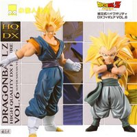 Wholesale NEW set cm dragonball dragon ball Super Saiyan Gogeta Gotenks Son Goku Kakarotto action figure toys Christmas doll