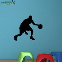 baby basketball player - all star sport player basketball wall stickers for kids room home decorations zooyoo8294 baby room decoration wall decals