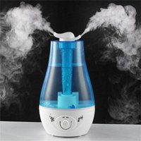 Wholesale 2015 New Hot Sale Air Humidifier Ultrasonic Aromatherapy Diffuser Humidifier Mist Maker For Home Baby Facial Beauty