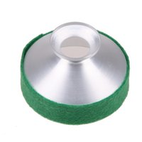 Wholesale BS S Mute for Eb Alto Saxophone Sax Metal Dampener Green