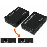 Wholesale 100M HDMI Extender over single cat5e or cat6 Support IR D Extend HDMI TCP IP