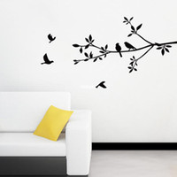 bedroom furniture direct - 10 home decor Den bedroom wall stickers home furniture generation tree with birds wall sticker factory direct custom