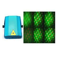 auto image - S1M Mini Image Strobe Light DJ Disco Light Blue Projector Party Laser Stage Light