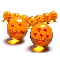 Wholesale Free DHL Japanese Animation Dragon Ball Stars Crystal Ball set of new in box diameter mm