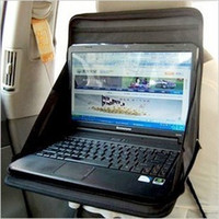 Wholesale QP025 newest folding car laptop holder computer rack multifunctional dining table pallet seat backpack